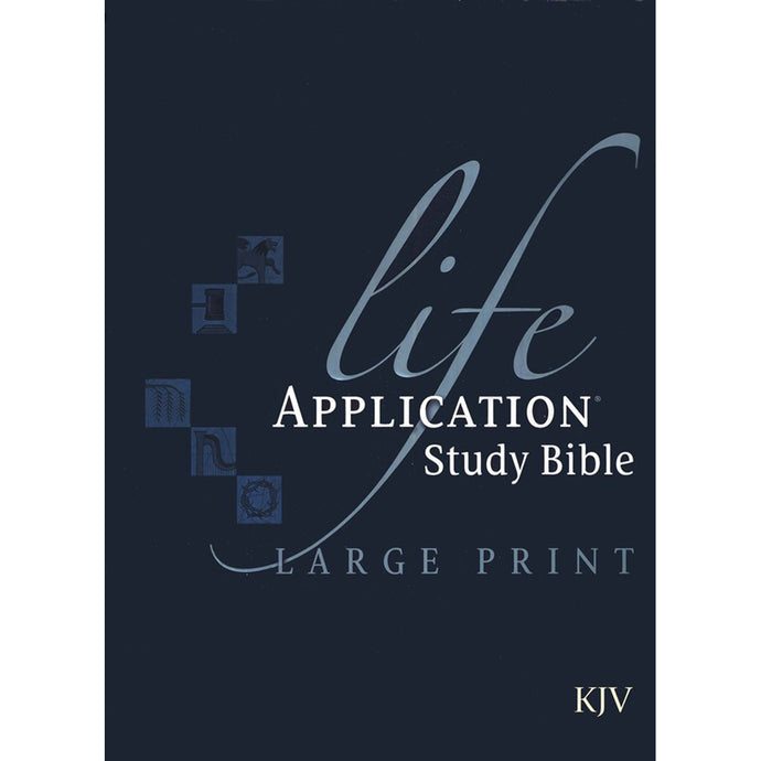 KJV Life Application Study Bible With Jacket (Hardcover)