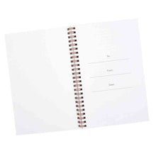 Load image into Gallery viewer, Proverbs 3:5 Trust In The Lord With All Your Heart (Wirebound PVC Notebook)