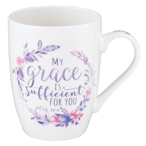 2 Corinthians 12:9 My Grace Is Sufficient For You (Ceramic Mug)