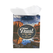 Load image into Gallery viewer, Proverbs 3:5 Trust In The Lord (Extra Small Gift Bag)