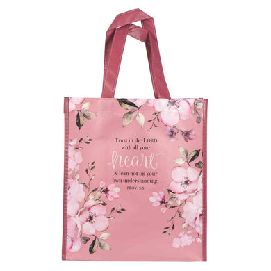 Proverbs 3:5 Trust In The Lord With All Your Heart (Non-Woven Polypropylene Tote Bag)