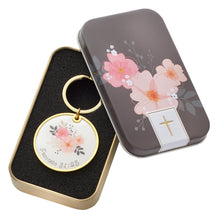 Load image into Gallery viewer, Proverbs 31:25 Strength & Dignity (Keyring In Tin)