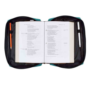 Strength And Dignity Teal (Polyester Bible Bag)