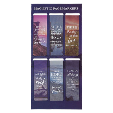 Psalm 134:2 Lift Up Your Hands (Set Of 6)(Magnetic Pagemarkers)