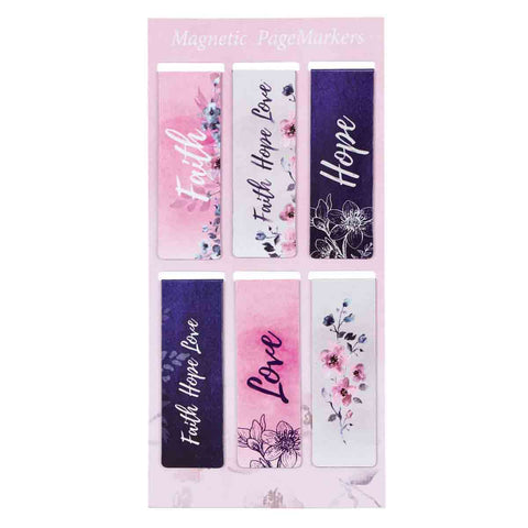 Faith Hope Love (Magnetic Pagemarkers)