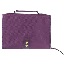 Load image into Gallery viewer, With Faith Badge Purple (Polyester Bible Bag)