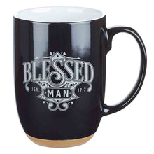 Load image into Gallery viewer, Blessed Man (Ceramic Mug)