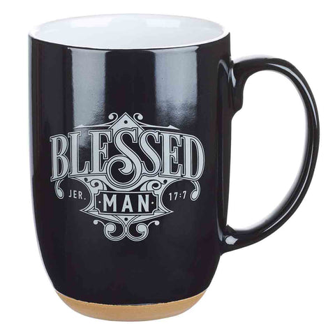 Blessed Man (Ceramic Mug)