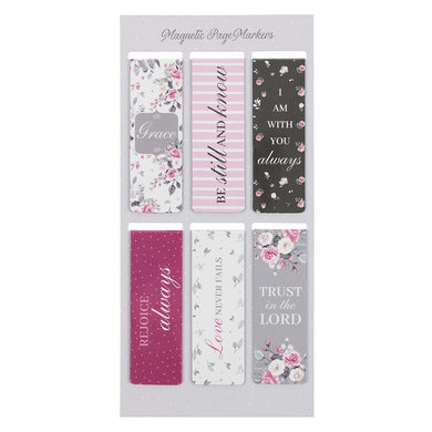 Pink Roses (Magnetic Pagemarkers)