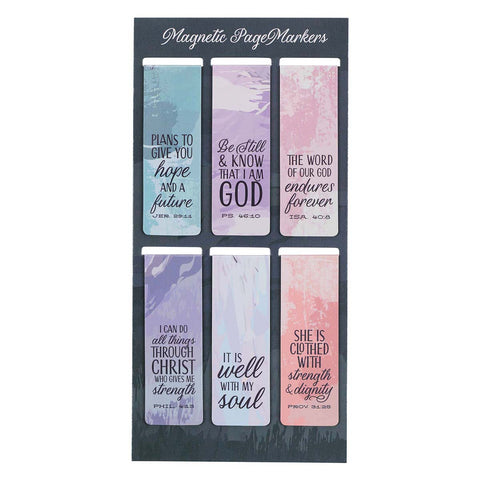 Scenic (Set Of 6)(Magnetic Pagemarkers)