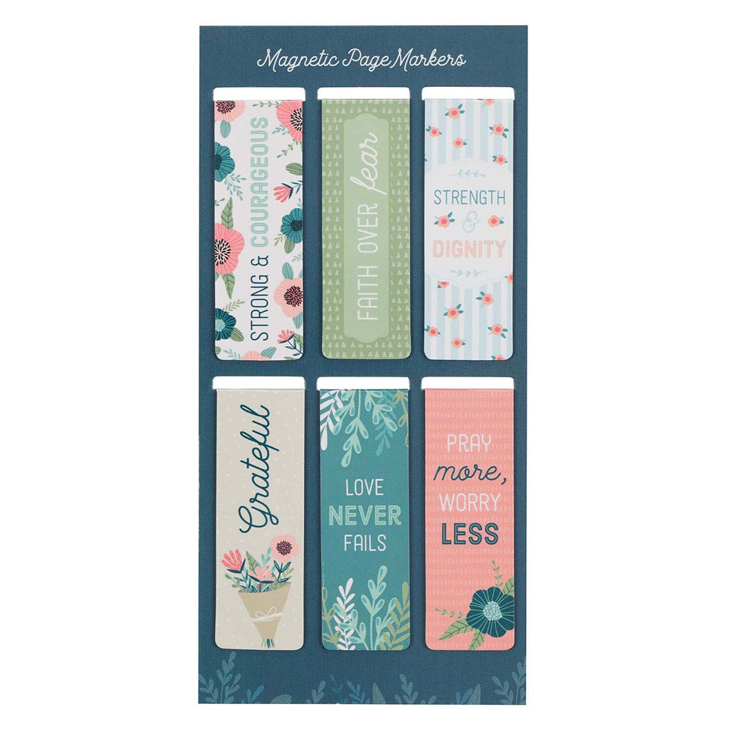Floral Garden (Magnetic Pagemarkers)