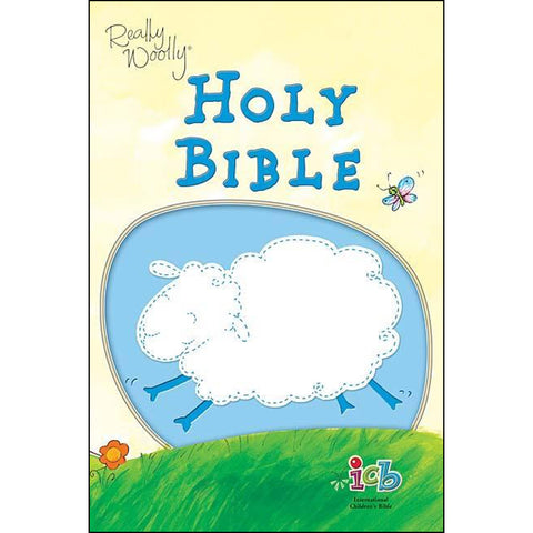 ICB Really Woolly Holy Bible Children's Edition Imitation Leather Blue (Flexcover)