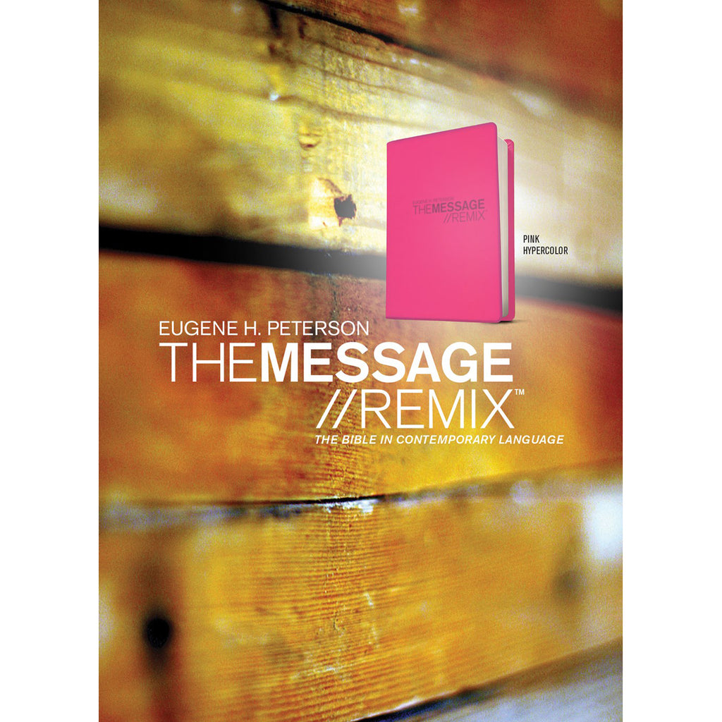 The Message Remix 2.0 Hypercolor Pink (Imitation Leather)