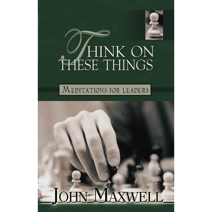 Think On These Things (Paperback)