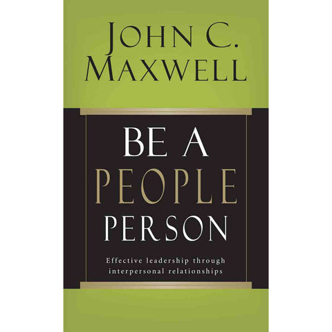 Be A People Person (Paperback)