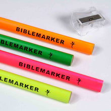 Load image into Gallery viewer, Jumbo Bible Markers With Sharpener (Set Of 4)(Bible Markers)