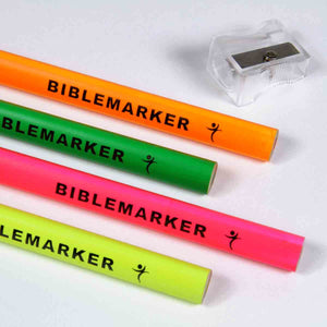 Jumbo Bible Markers With Sharpener (Set Of 4)(Bible Markers)