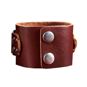 Forgiven Brown (Genuine Leather Wriststrap)
