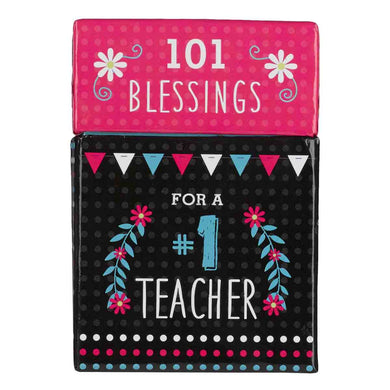 Blessings For A Number One Teacher (Boxed Cards)
