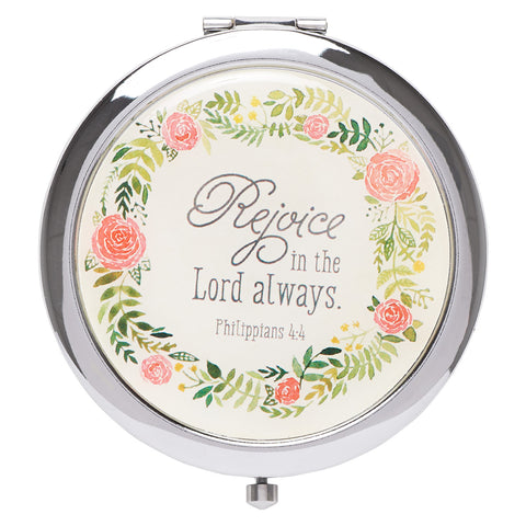 Rejoice In The Lord Always (Compact Mirror)