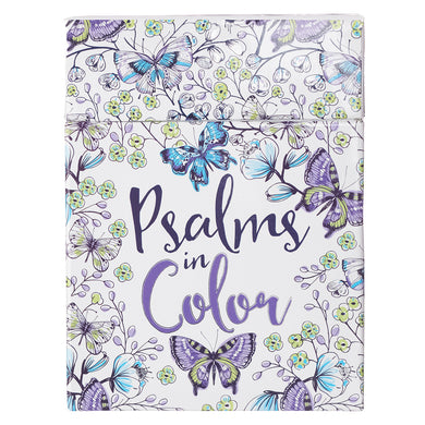 Psalms In Color (Coloring Boxed Cards)