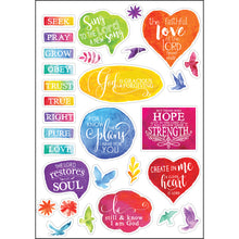 Load image into Gallery viewer, Bible Journaling Stickers (Set Of 3)(Journaling Stickers)