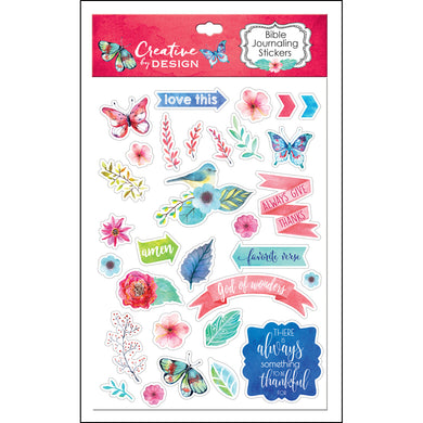 Bible Journaling Stickers (Set Of 3)(Journaling Stickers)