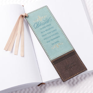 Blessed Is She Who Has Believed (LuxLeather Pagemarker)