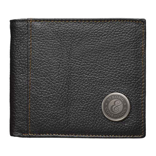 Be Strong And Courageous (Genuine Leather Wallet)