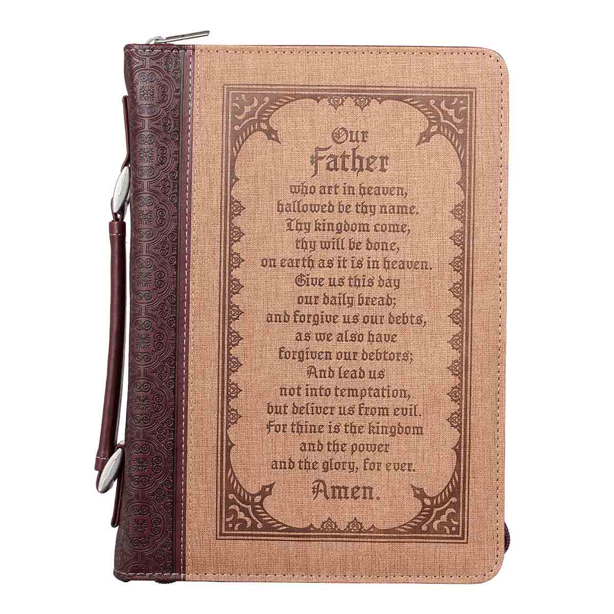 Our Father Who Art In Heaven (LuxLeather Bible Bag)
