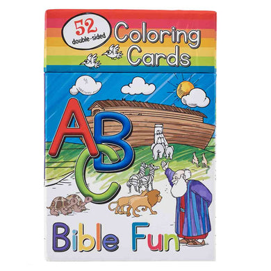 ABC Bible Fun (Coloring Boxed Cards)