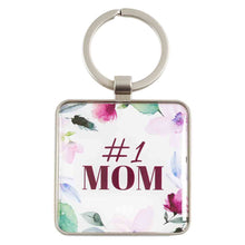 Load image into Gallery viewer, #1 Mom Proverbs 31:29 (Metal Keyring)