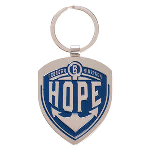 Hebrews 6:19 Hope (Metal Keyring)