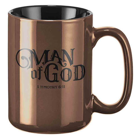 1 Timothy 6:11 Man Of God (Mug)