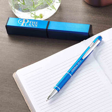 Load image into Gallery viewer, Jeremiah 29:11 For I Know The Plans I Have For You Blue (Boxed Set Pen)