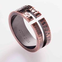 Load image into Gallery viewer, John 3:16 (Stainless Steel Men's Ring)