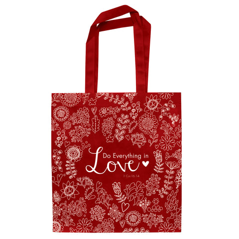 Do Everything in Love (Non-Woven Polypropylene Tote Bag)