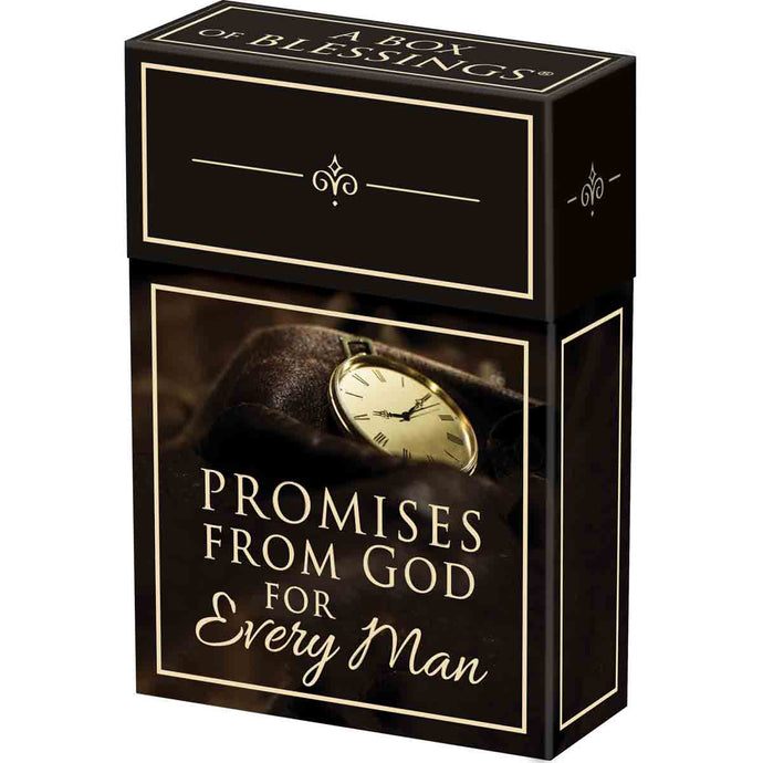 Promises From God For Every Man Cards (Boxed Set)
