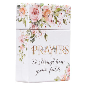 Prayers To Strengthen Your Faith (Boxed Cards)