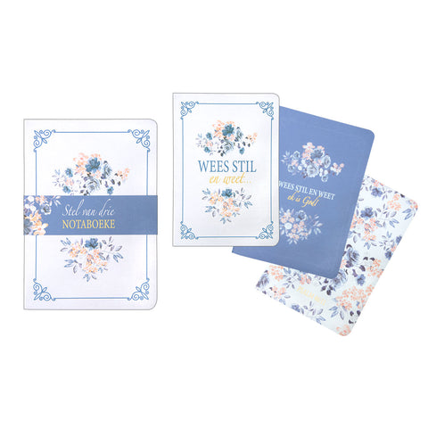 Wees Stil & Weet (Medium Notebook Set)