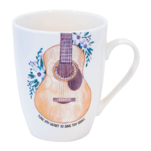 Tune My Heart To Sing Thy Grace (Ceramic Mug)