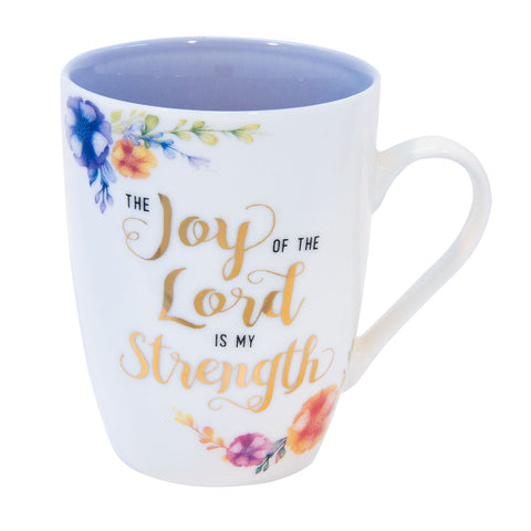 The Joy Of The Lord Is My Strength Nehemiah 8:10 (Ceramic Mug)