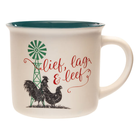Load image into Gallery viewer, Lief, Lag, Leef (Ceramic Mug)