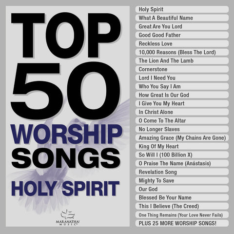 Top 50 Worship Songs Holy Spirit (3 CD)