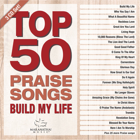 Top 50 Praise Songs/Build My Life (CD)