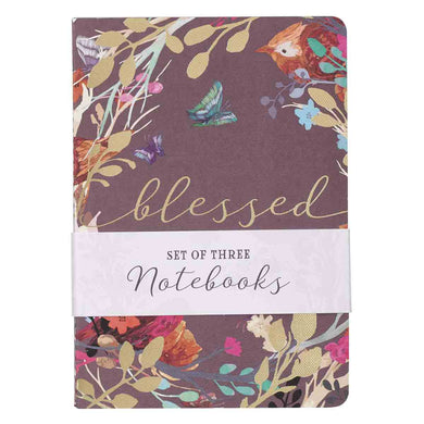 Blessed Is She (Set Of 3)(Medium Notebook Set)