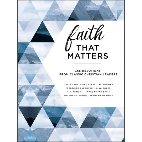 Faith That Matters (Hardcover)