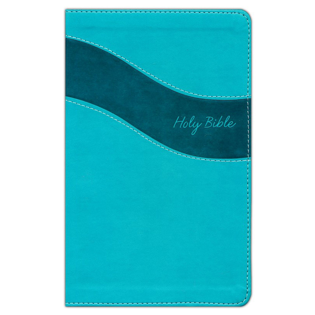 NIV Premium Gift Bible Red Letter Blue (Comfort Print)(Imitation Leather)