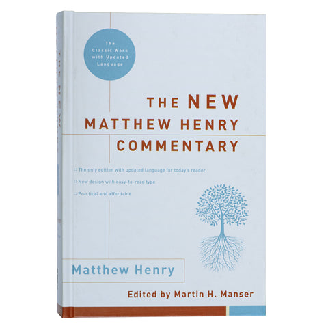Load image into Gallery viewer, New Matthew Henry Commentary (Hardcover)