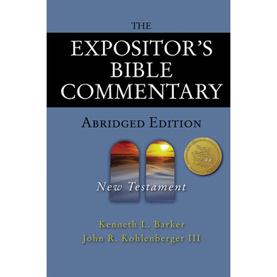 The Expositors Bible Commentary Abridged Ed New Testament (Hardcover)